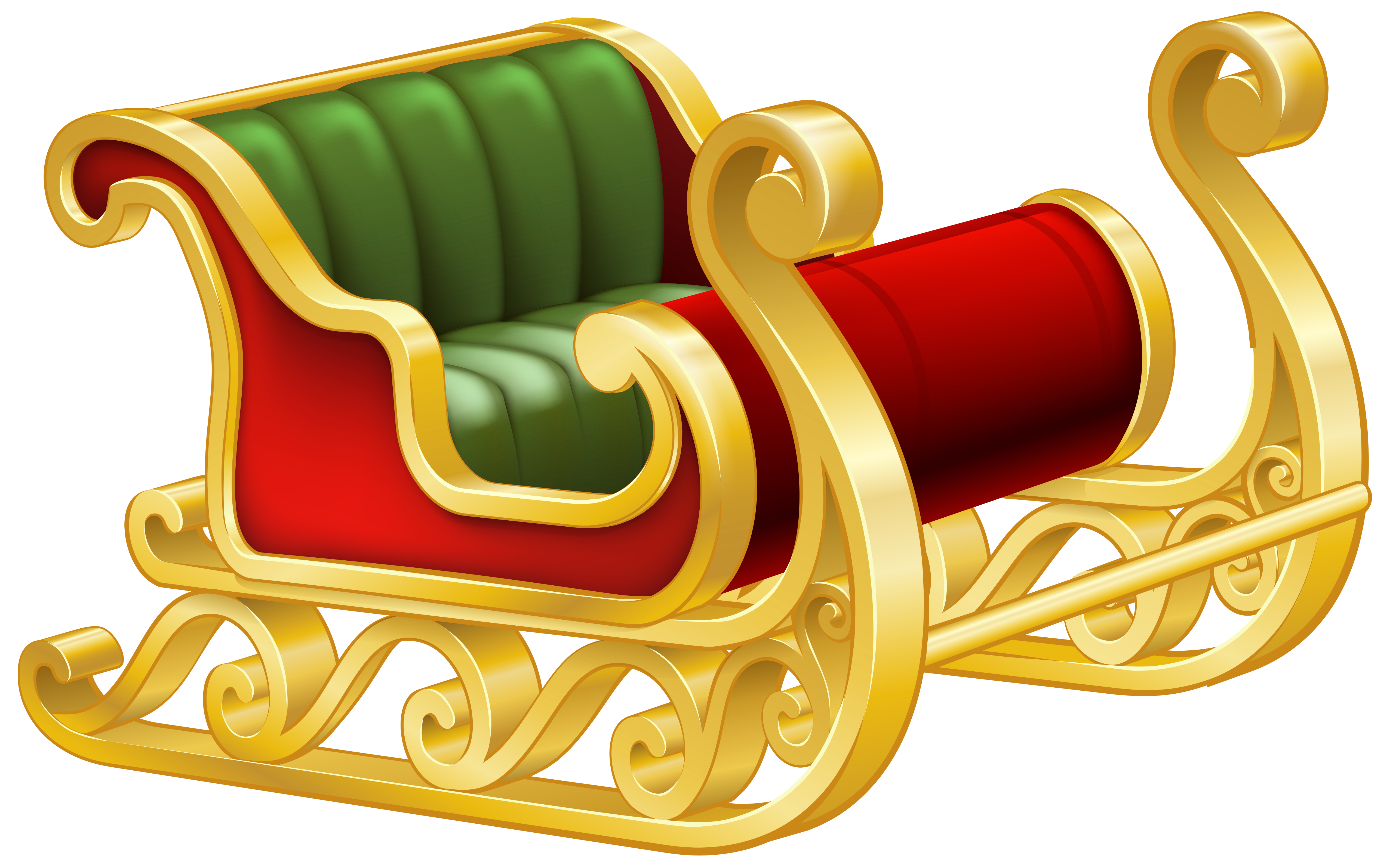 Slegh clipart clipart freeuse download Pin by Jane Perry on Png | Santa sleigh, Christmas sled, Clip art clipart freeuse download
