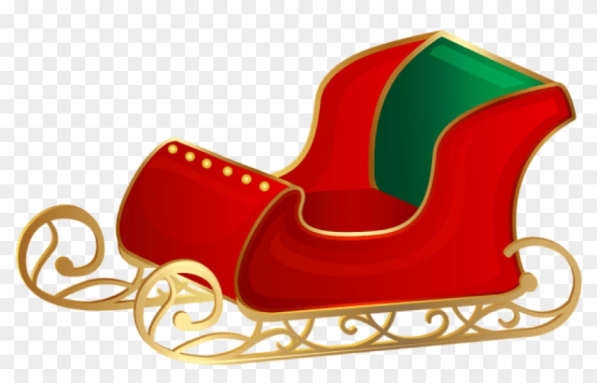 Red sleigh clipart clip art library Free Png Christmas Santa Sleigh Png Png - Free Clip Art Santa Sleigh ... clip art library