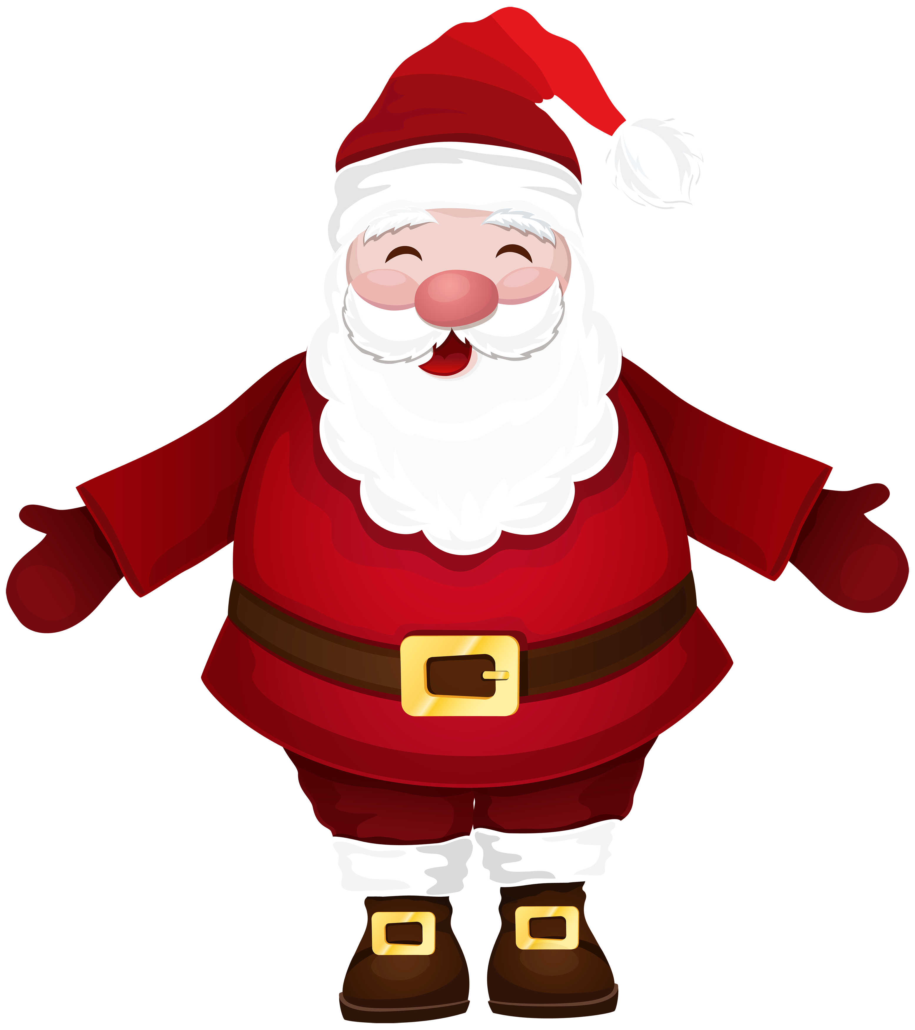 Santa in a car clipart jpg royalty free Santa Claus PNG Clipart - Best WEB Clipart jpg royalty free