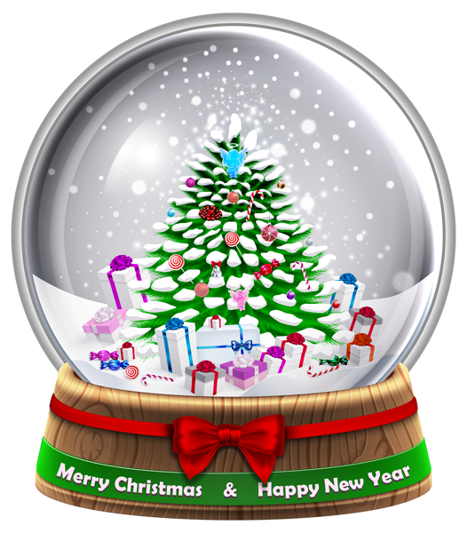 Christmas snow globe clipart clip art royalty free Transparent Snowglobe PNG Clip Art Image | PŘÁNÍČKA / HANDCRAFTED ... clip art royalty free