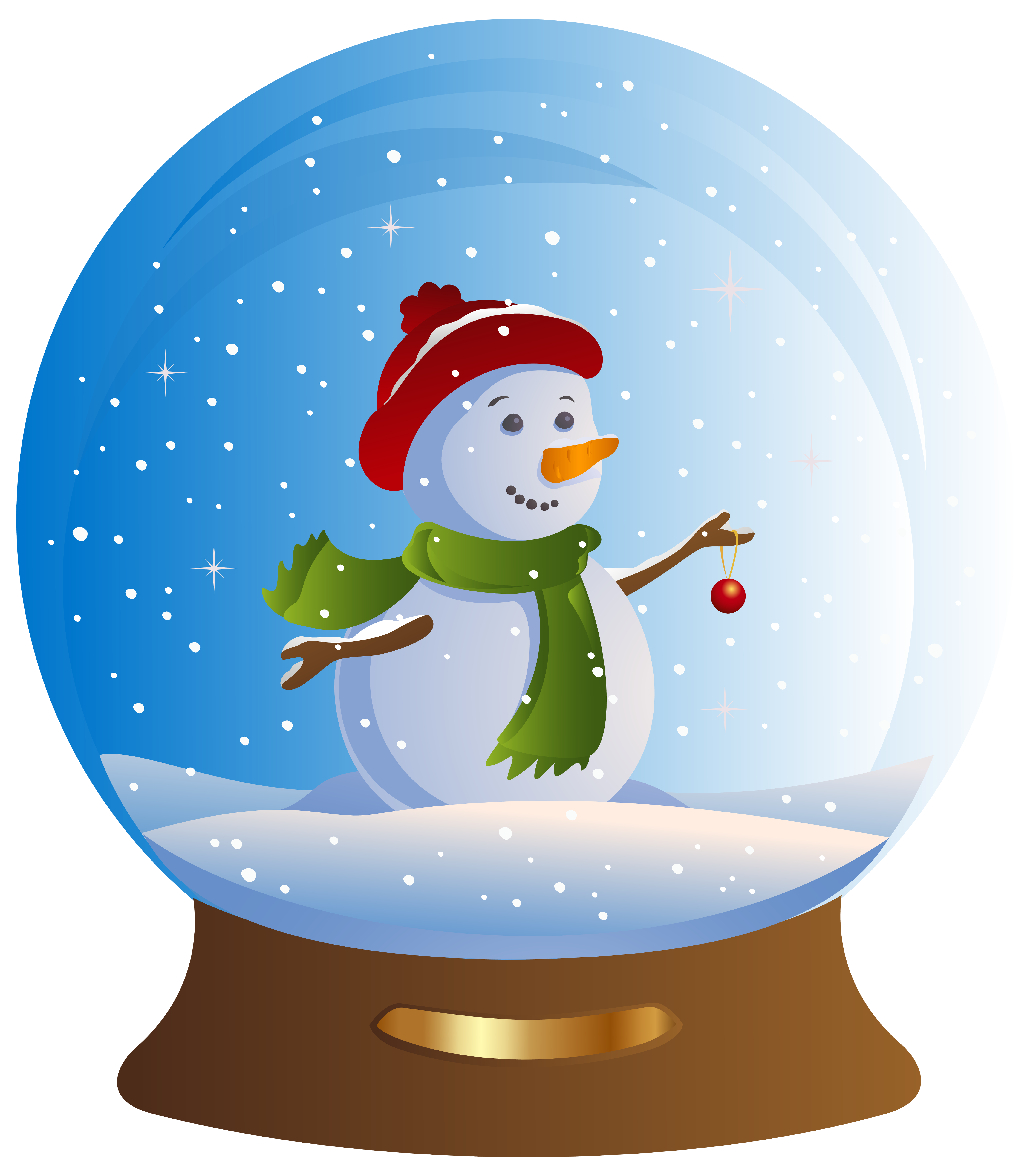Christmas snow globe clipart png library download 28+ Collection of Snowman Snow Globe Clipart | High quality, free ... png library download