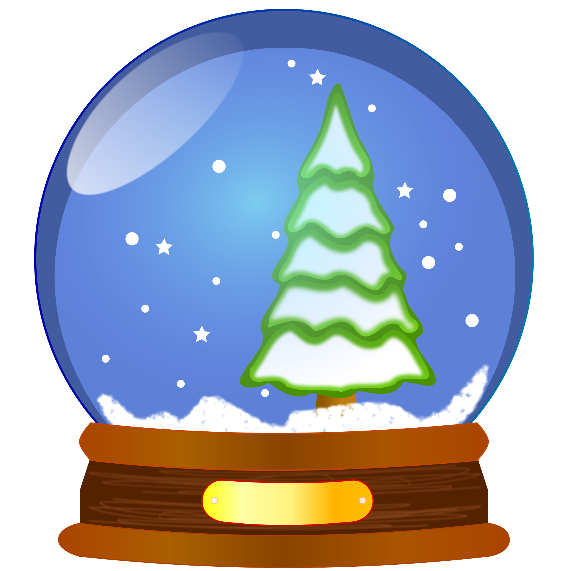 Christmas snow globe clipart picture library library Snow-globe-clipart.svg | Dunlap Public Library District picture library library