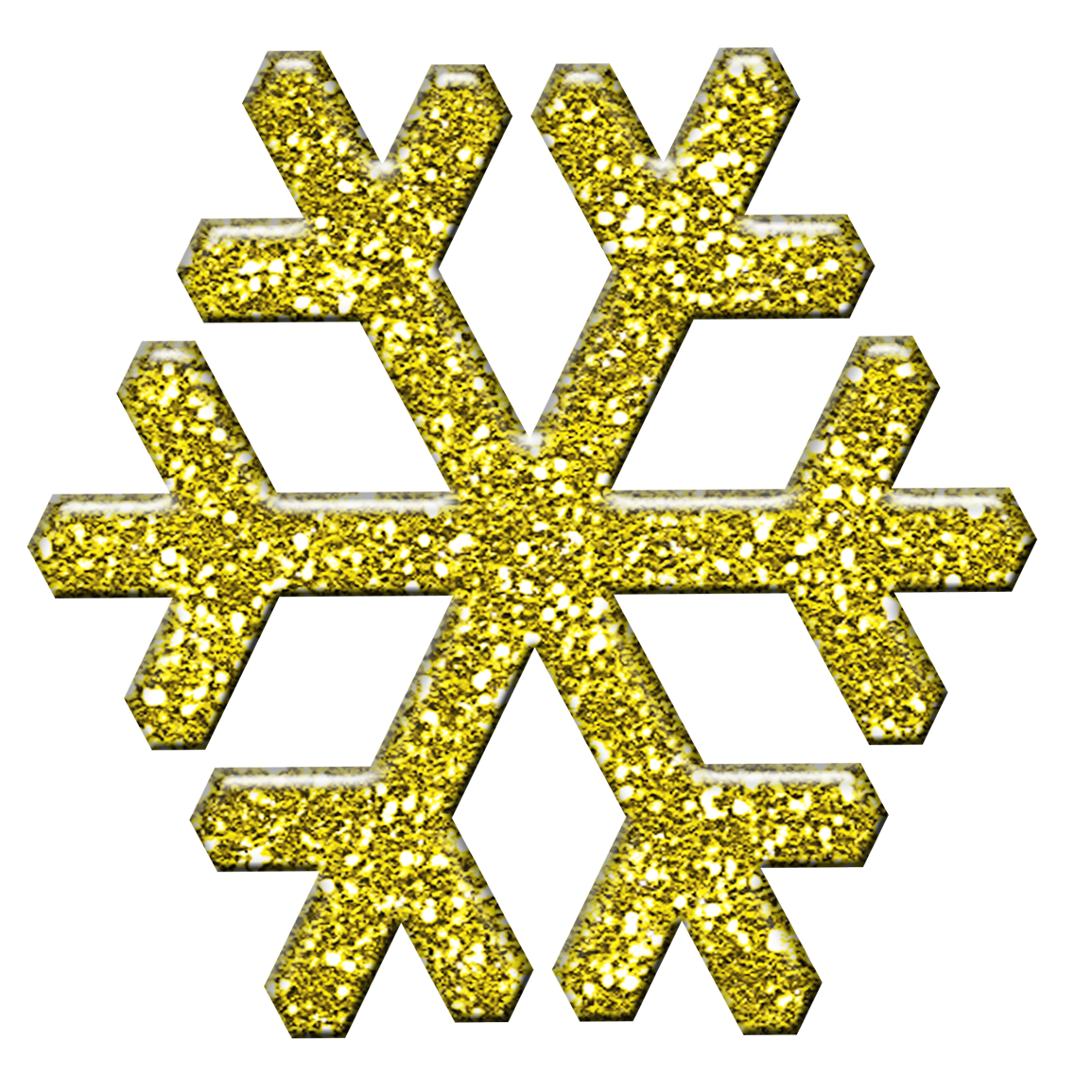 Gold snowflake clipart images vector black and white Free Christmas Scrapbooking Goodies: Christmas Snowflake Scrapbook Image vector black and white