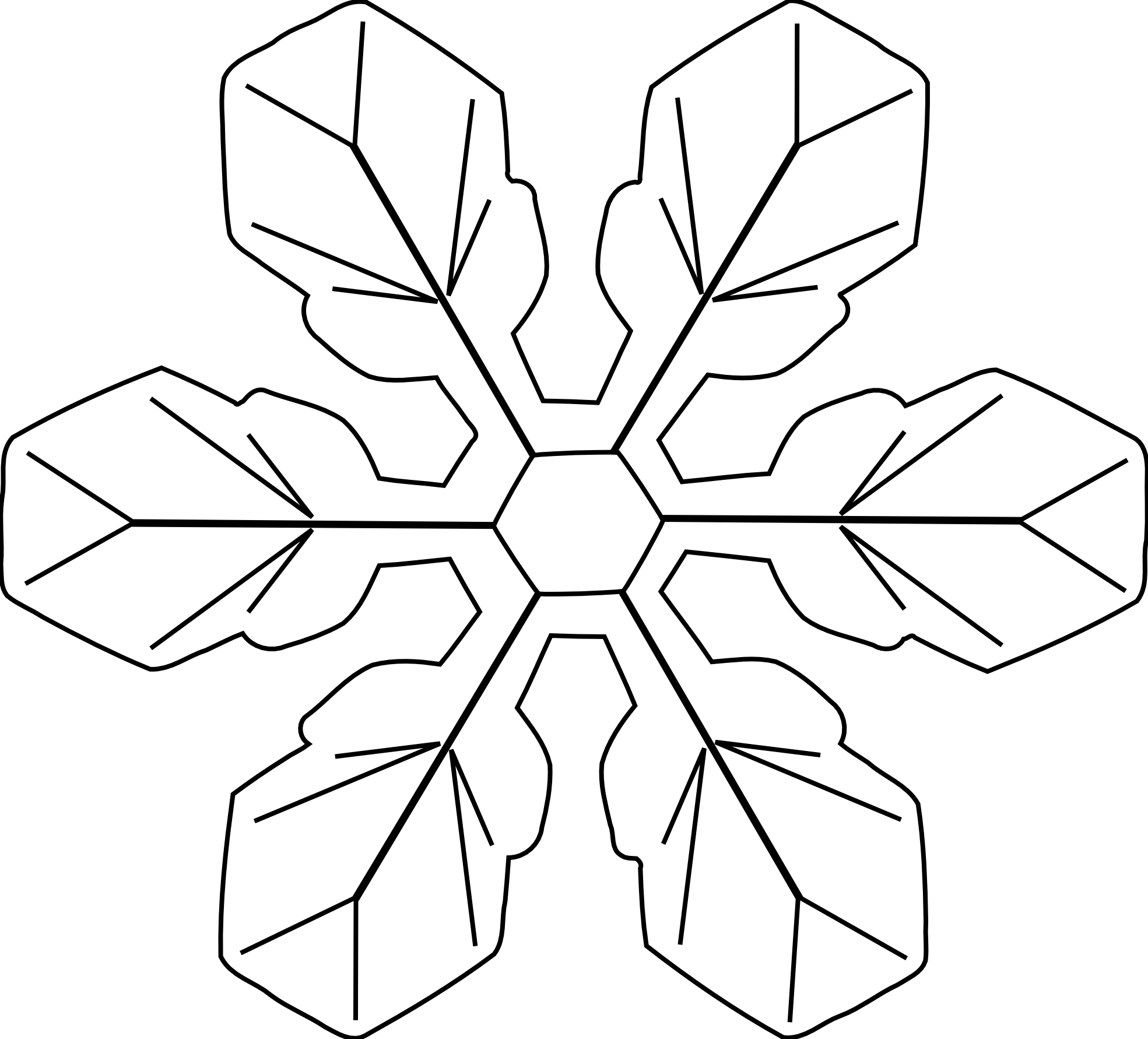 Christmas snowflake clipart black and white jpg library library White Snowflake Clipart Png | Clipart Panda - Free Clipart Images jpg library library
