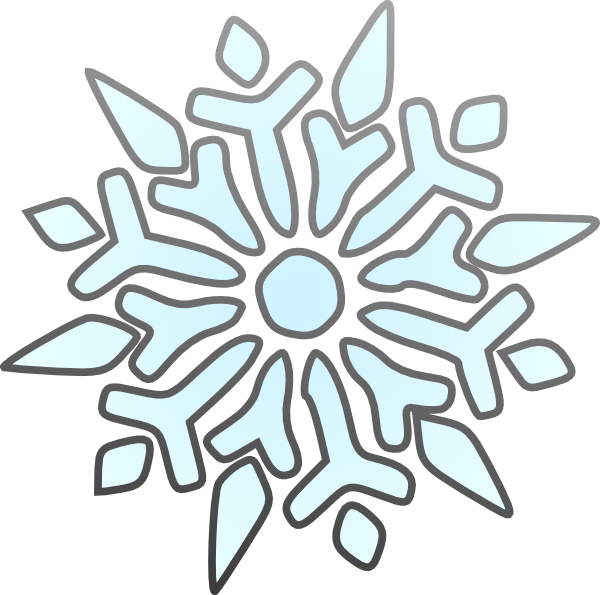 Snowflake clipart free freeuse Transparent background snowflake clipart freeuse
