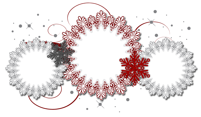 Christmas snowflake header clipart clipart Free Christmas Banner   Blogger Banner   The Cutest Blog On The Block clipart