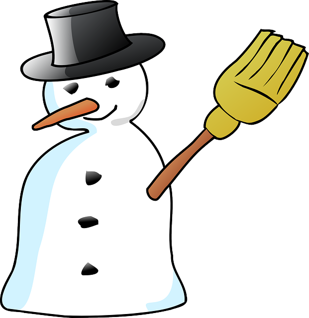 Cute christmas snowman clipart image black and white Christmas Snowman Clipart at GetDrawings.com | Free for personal use ... image black and white