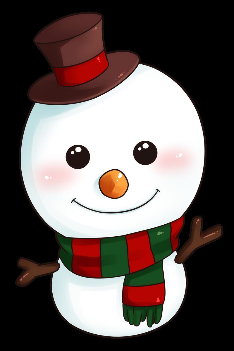 Christmas snowman clipart png transparent download christmas-snowman-clipart-8 - Happy Christmas New Year Greetings png transparent download