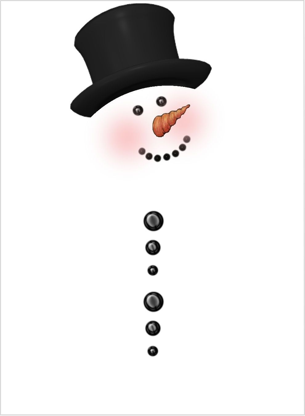 Christmas snowman outline clipart for vinyl cut out png royalty free library free printable snowman chocolate bar wrappers | Snowman Rolo Wrapper ... png royalty free library