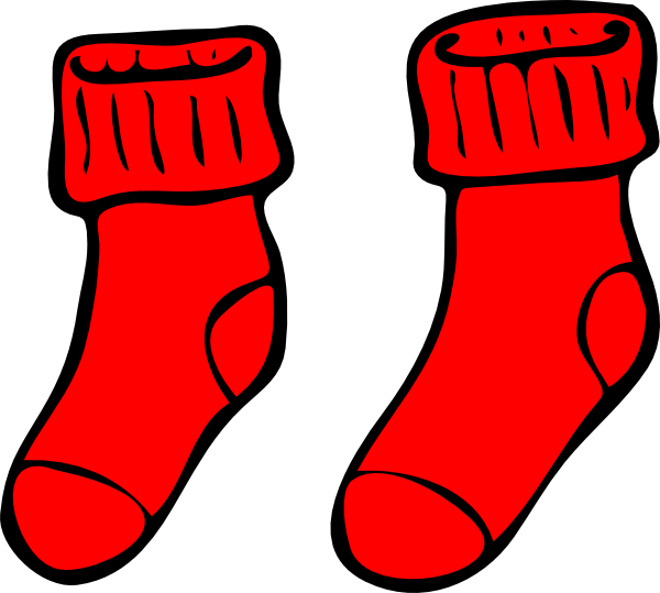Christmas sock clipart image free library Sock Clipart at GetDrawings.com | Free for personal use Sock Clipart ... image free library