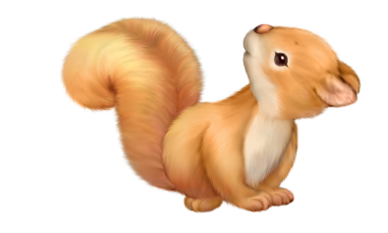Thanksgiving squirrel clipart png transparent download Cute Squirrel Free Clipart | Gallery Yopriceville - High-Quality ... png transparent download