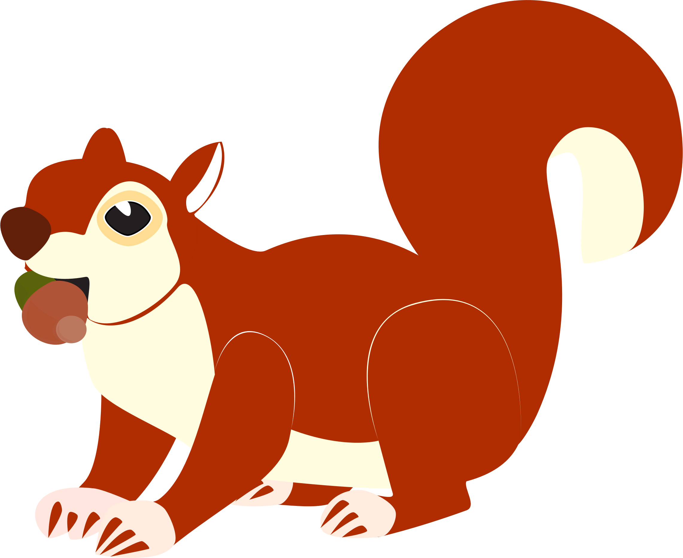 Christmas squirrel clipart clip black and white stock Red Squirrel Silhouette at GetDrawings.com | Free for personal use ... clip black and white stock