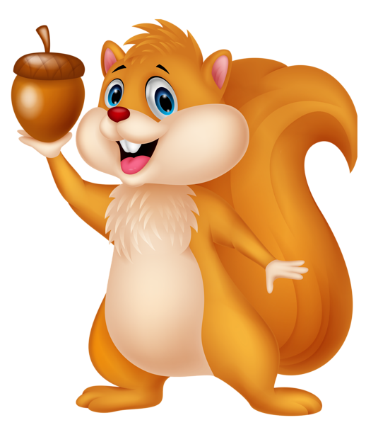 Cute thanksgiving squirrel nut clipart image library Squirrel Images Clipart cute squirrel with acorn png cartoon clipart ... image library