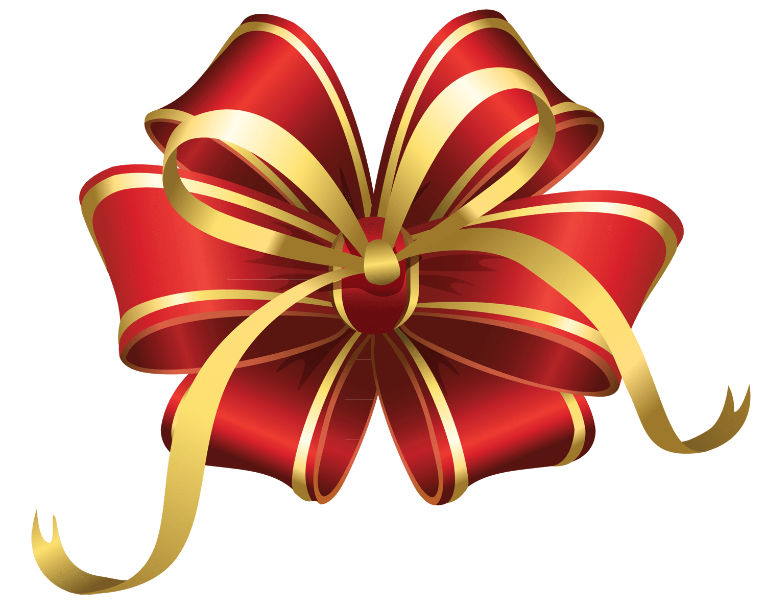 Star ribbon clipart picture transparent library Christmas Star Ribbon transparent PNG - StickPNG picture transparent library