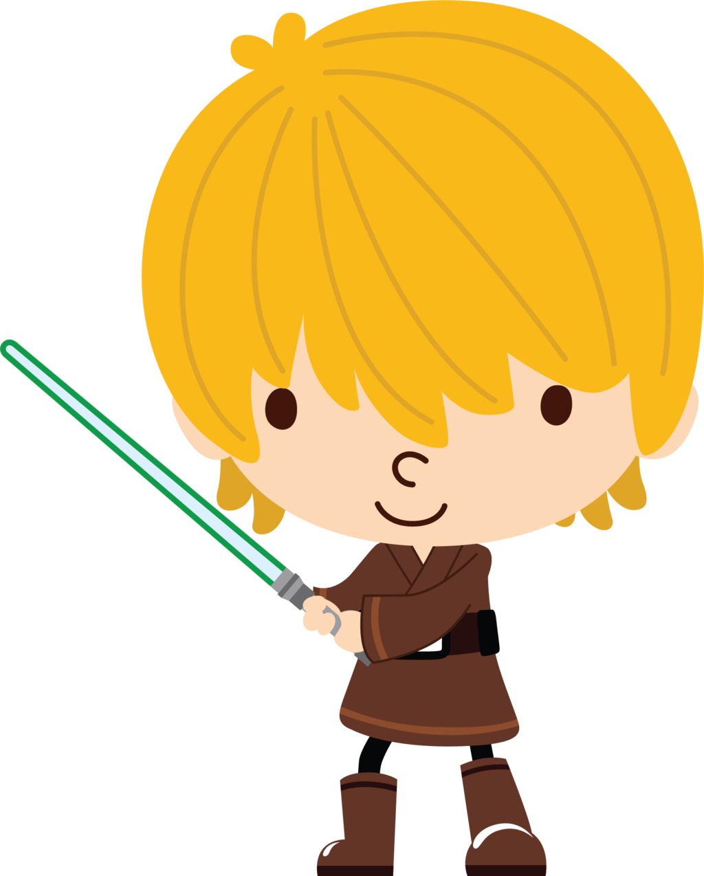 Star wars birthday clipart clip transparent Luke Skywalker by Chrispix326.deviantart.com on @DeviantArt ... clip transparent