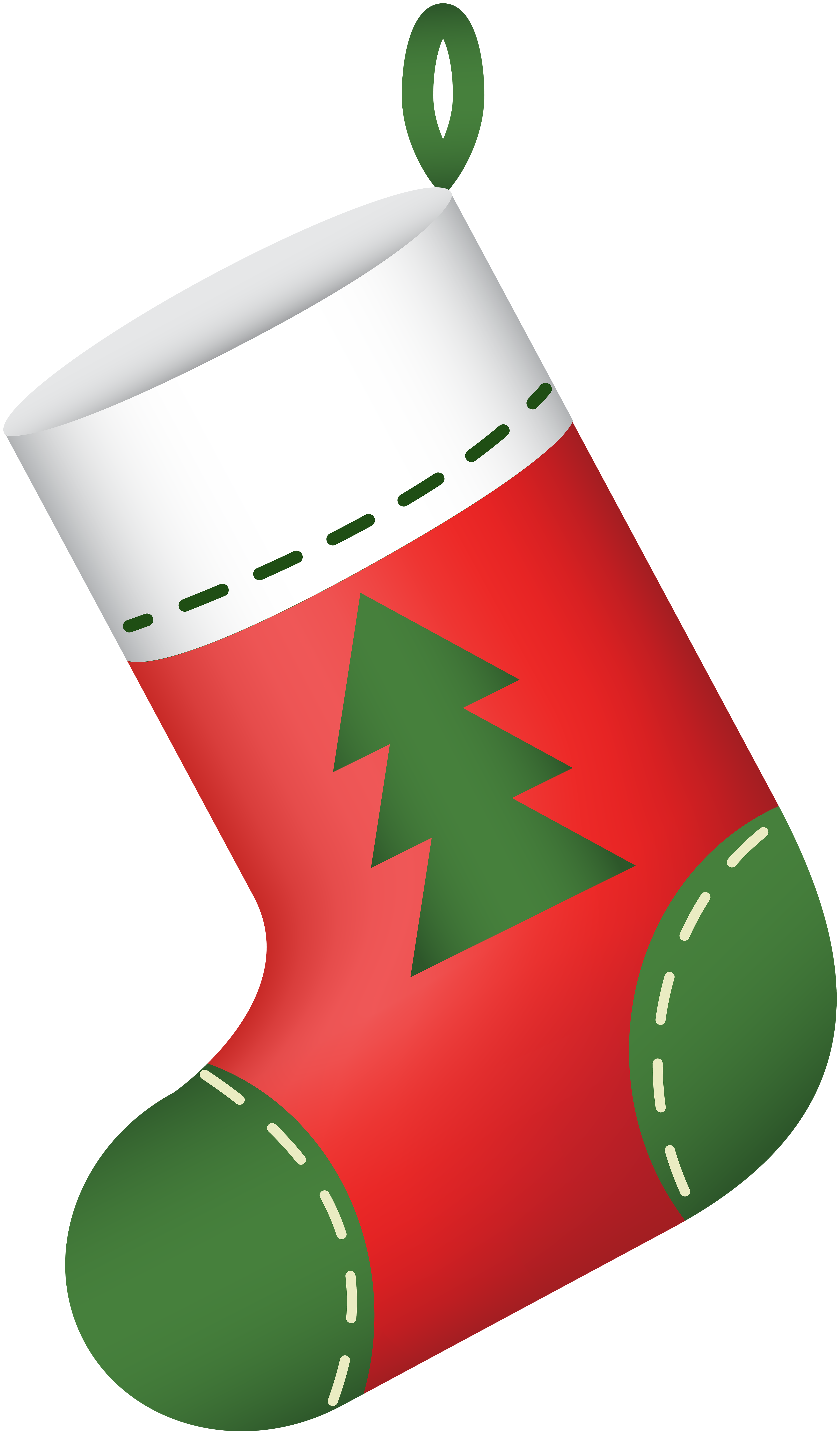 Stocking clipart free graphic royalty free stock Christmas Stocking Red PNG Clip Art   Gallery Yopriceville - High ... graphic royalty free stock