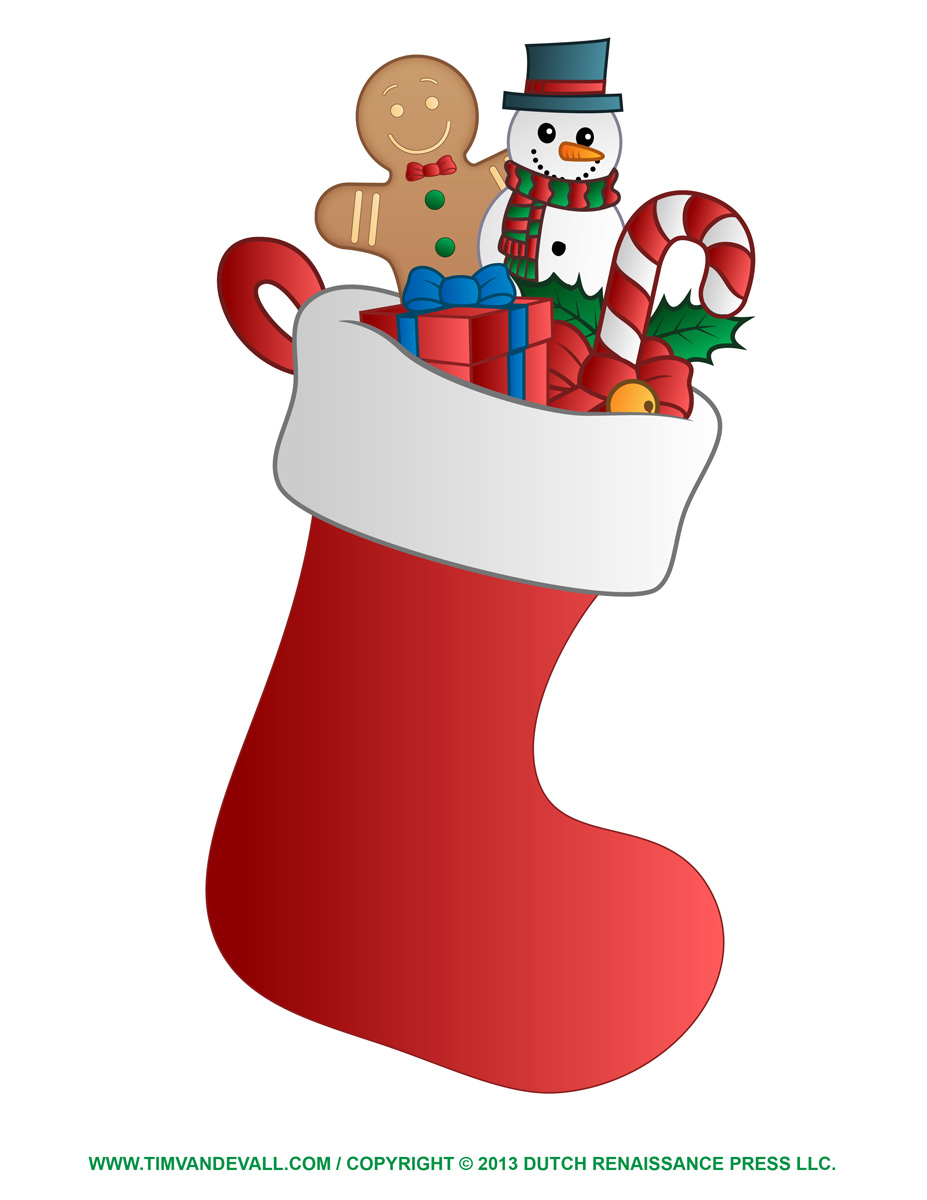 Clipartfest clip . Christmas stocking clipart patterns