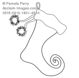 Christmas stocking clipart patterns.  images about ideas
