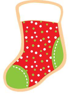 Christmas stocking clipart patterns jpg free stock Photo by @daniellemoraesfalcao - Minus | dibujos | Pinterest ... jpg free stock
