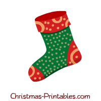 Christmas stocking clipart printables picture library download Christmas Stockings ClipArt picture library download
