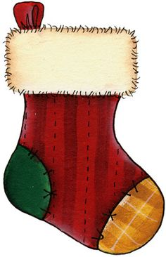Christmas stocking clipart printables black and white library Christmas stocking clipart printables - ClipartFest black and white library