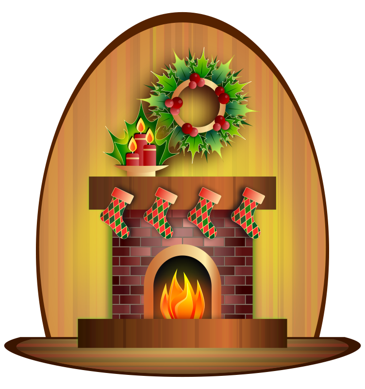 Christmas stockings fireplace clipart banner stock 28+ Collection of Fireplace Clipart Christmas | High quality, free ... banner stock