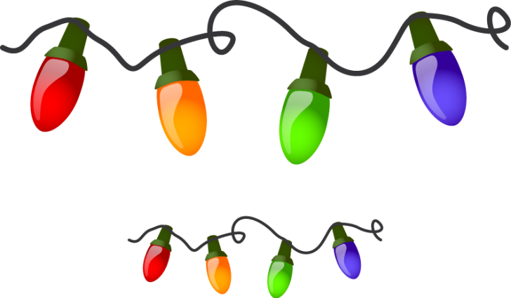 Transparent christmas lights clipart banner freeuse library Download String Lights Clipart Free - Alternative Clipart Design • banner freeuse library
