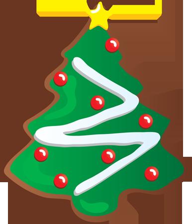 Christmas sugar cookies clipart