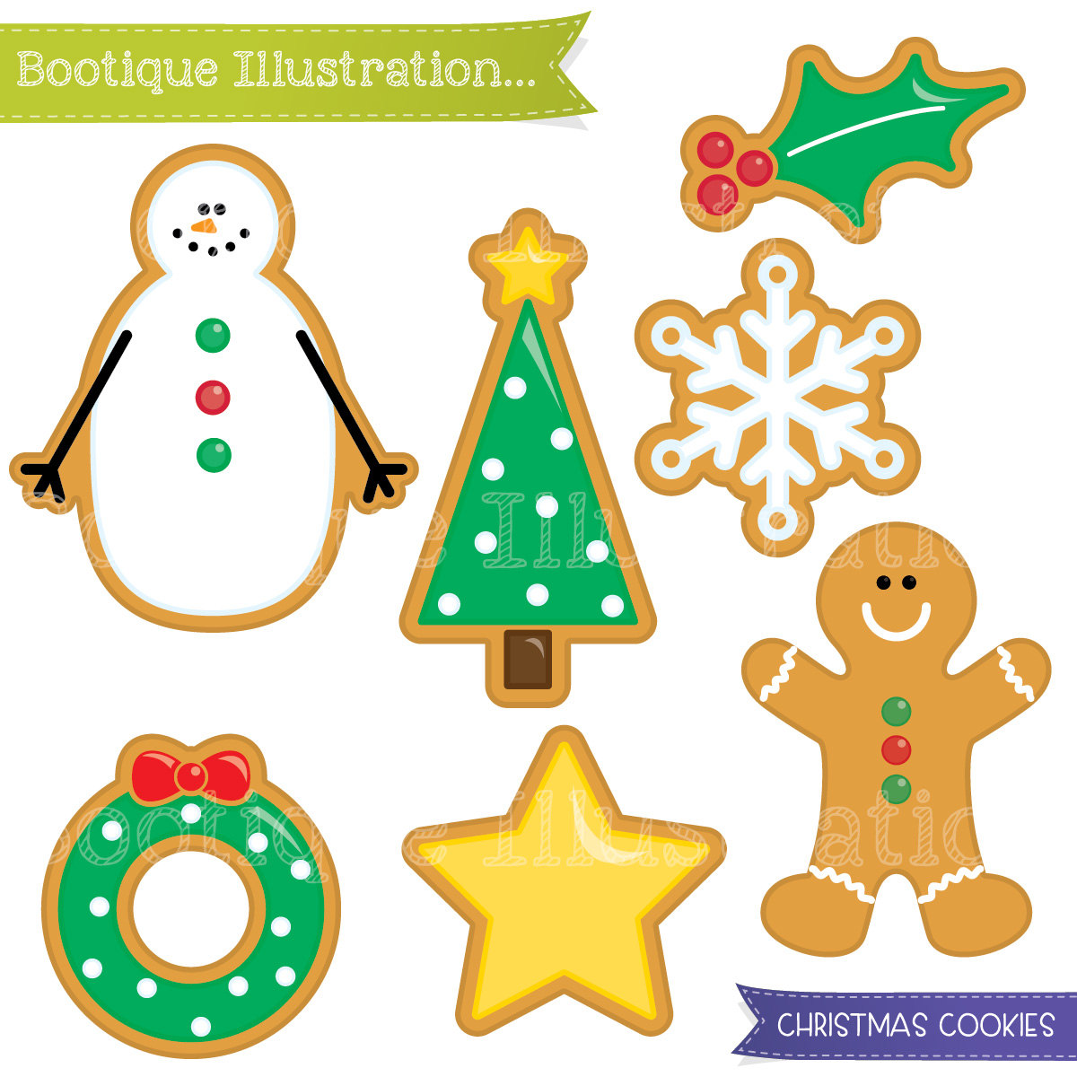 Christmas sugar cookies clipart image free download Free Christmas Cookie Cliparts, Download Free Clip Art, Free Clip ... image free download