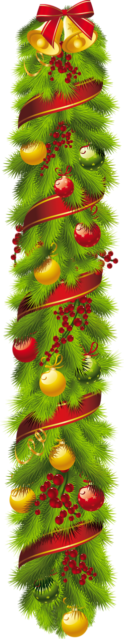 Christmas swag clipart png download CHRISTMAS VERTICAL SWAG CLIP ART | CLIP ART - CHRISTMAS 1 - CLIPART ... png download