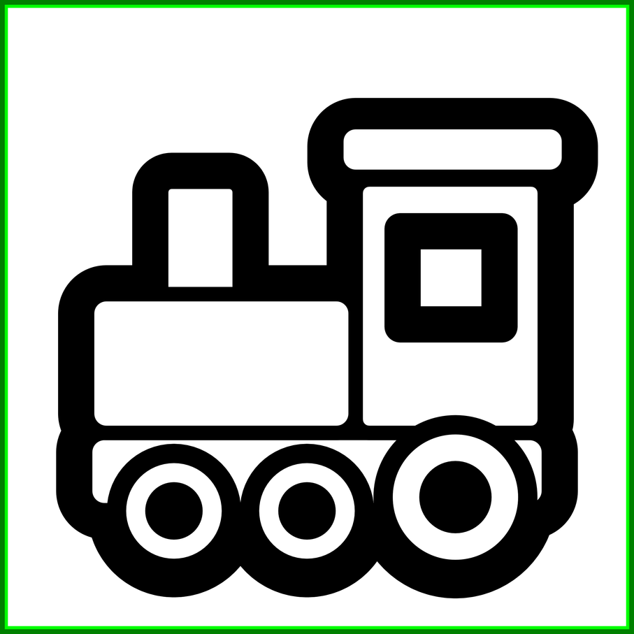 Clipart black and white pumpkin picture download Fascinating Black And White Pumpkin Toy Train Icon Line Art Pic Of ... picture download