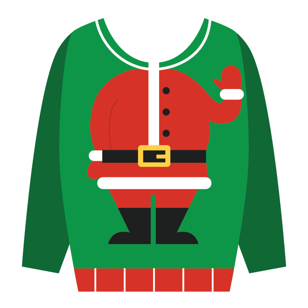 Ugly christmas sweaters clipart free royalty free library iMessage Stickers — Menard Interactive royalty free library