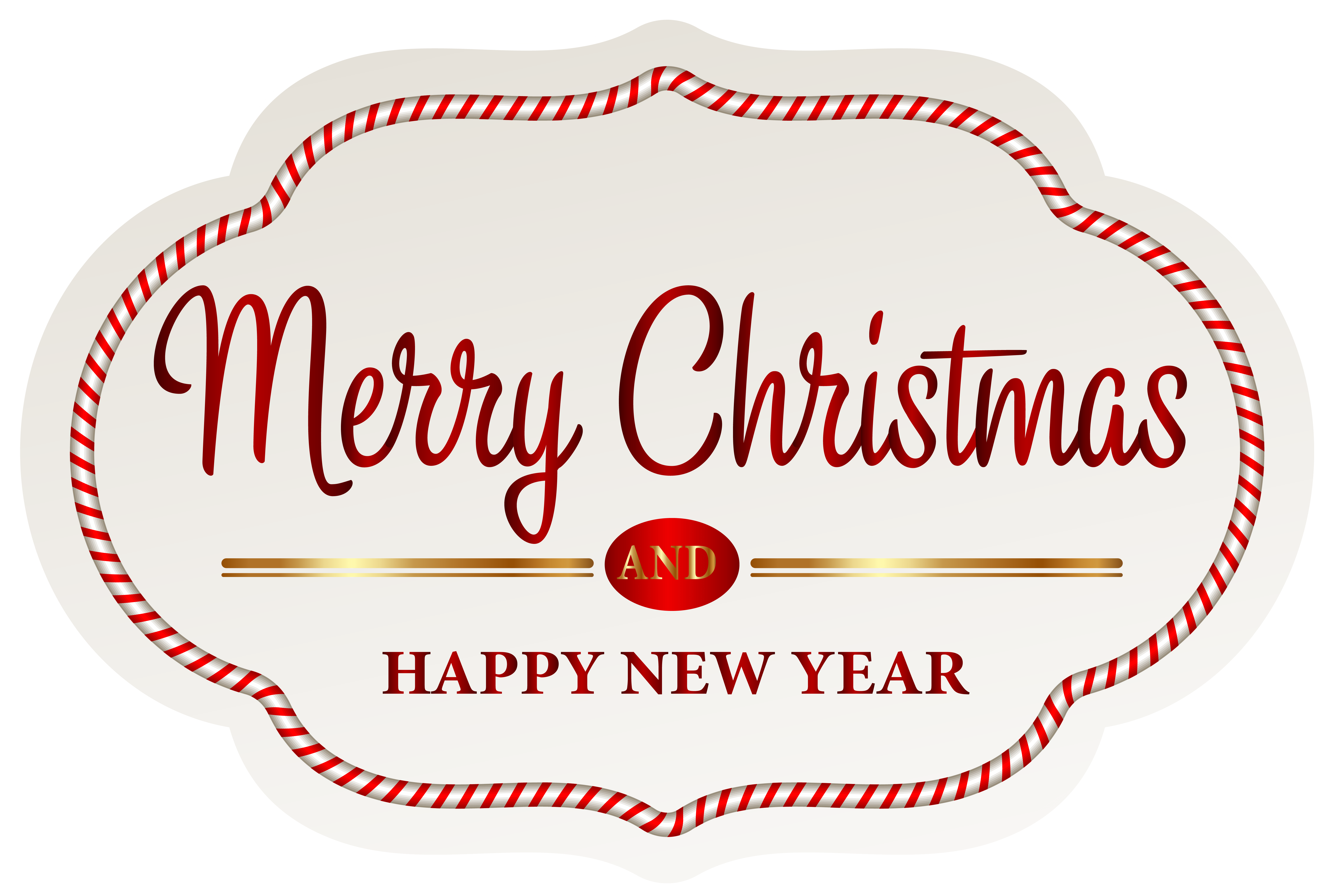 Christmas tag clipart clip free stock Merry Christmas Label – Merry Christmas And Happy New Year 2018 clip free stock