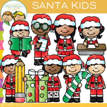 Christmas teacher clipart clip transparent Santa Kids Christmas Clip Art in 2019   Products   Christmas clipart ... clip transparent