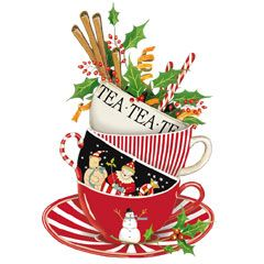 Pinterest . Free christmas tea clipart