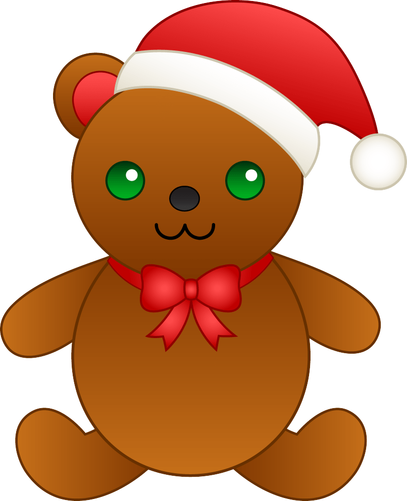 Christmas teddy bear clipart banner royalty free Free Cartoon Teddy Bear Images   Reviewwalls.co banner royalty free