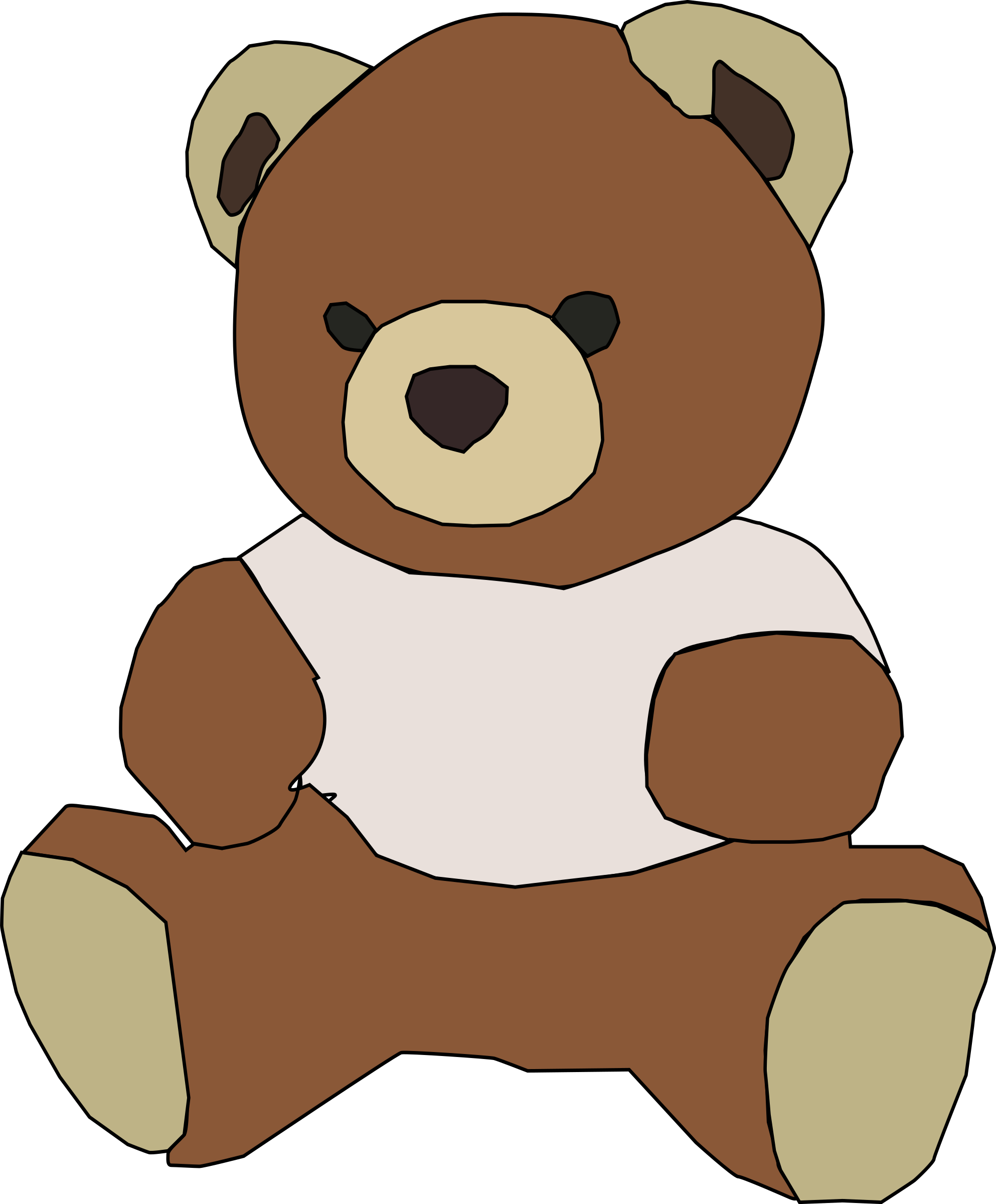 Christmas teddy bear clipart clipart freeuse Clipart - teddy bear clipart freeuse