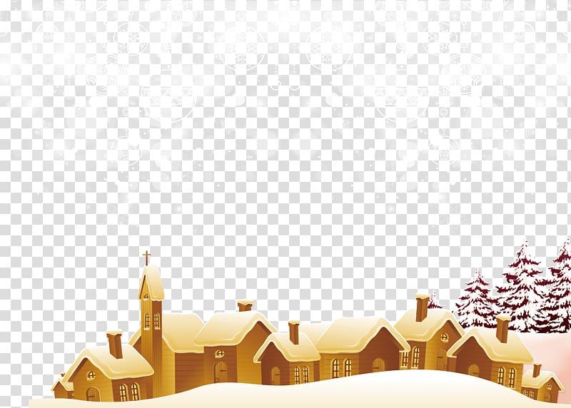 Christmas texture clipart clip art royalty free stock Santa Claus Christmas Snowflake, Winter small village greeting cards ... clip art royalty free stock