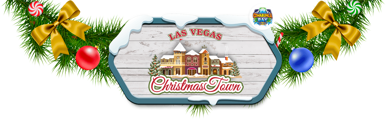 Christmas town clipart