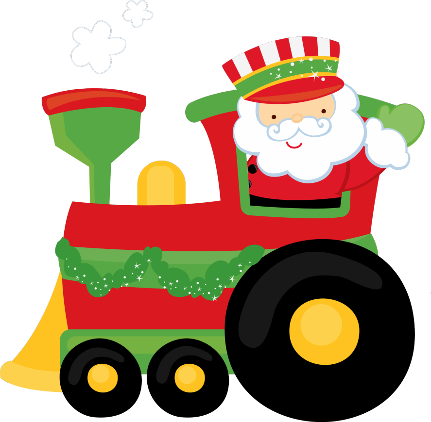 Christmas train clipart clip black and white stock Images of Christmas Toy Train Clipart - #SpaceHero clip black and white stock