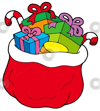 Christmas treat bag clipart clip black and white library Gift Bag Clipart   Free download best Gift Bag Clipart on ClipArtMag.com clip black and white library
