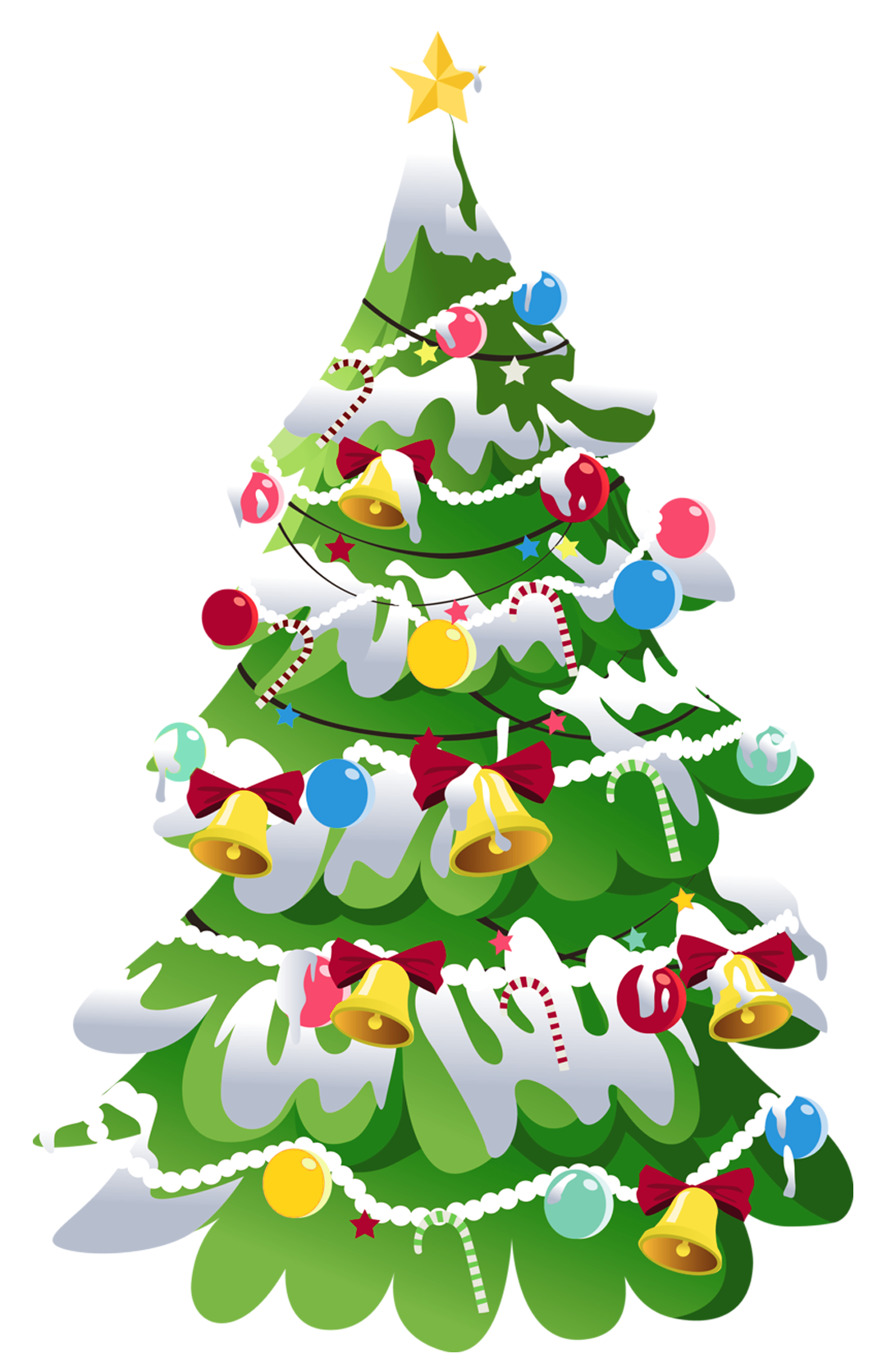 Christmas tree banner clipart picture transparent download Transparent Christmas Tree PNG Picture | Gallery Yopriceville ... picture transparent download