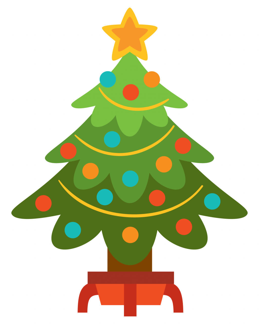 Christmas tree border clipart png library library Transparent Tree Clipart | Free download best Transparent Tree ... png library library