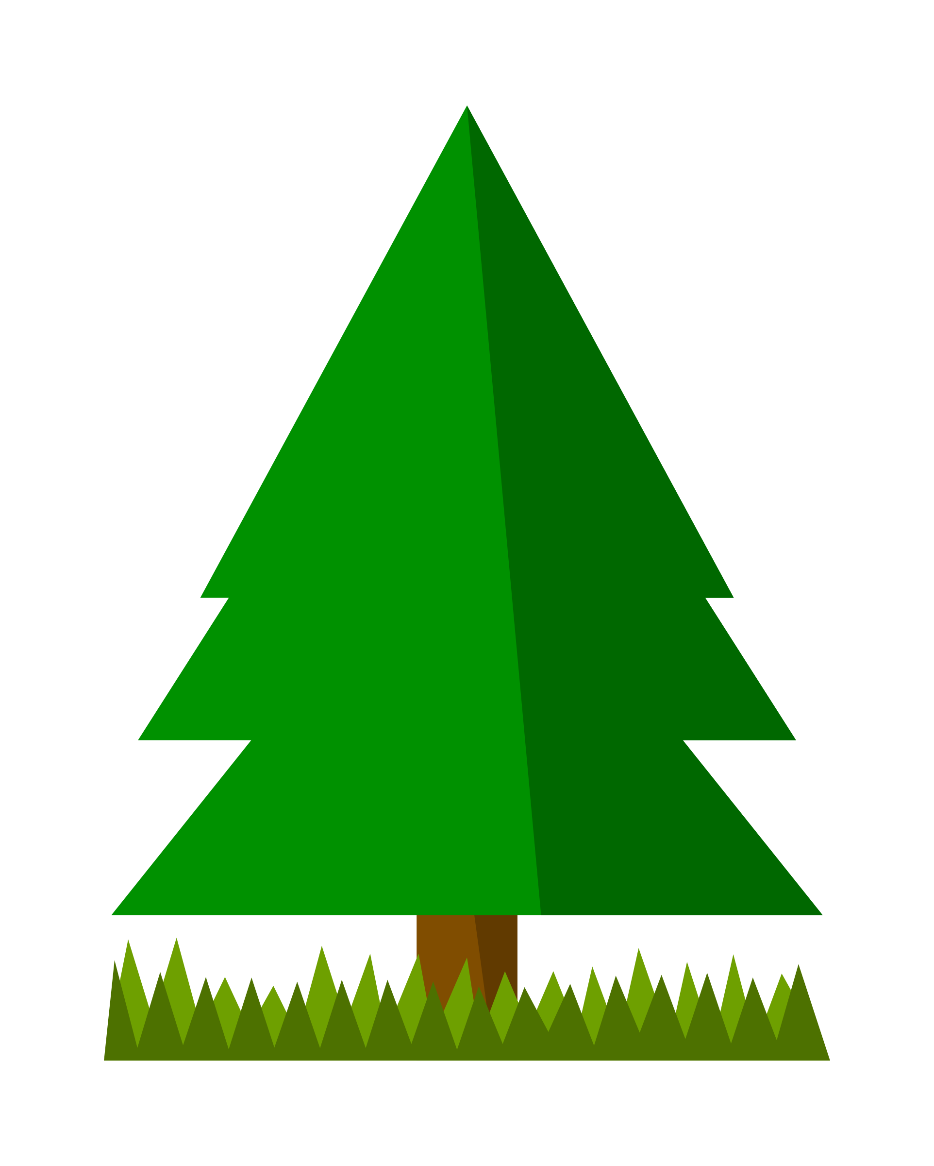 Christmas tree border clipart free vector Simple Christmas Tree Clipart at GetDrawings.com | Free for personal ... vector