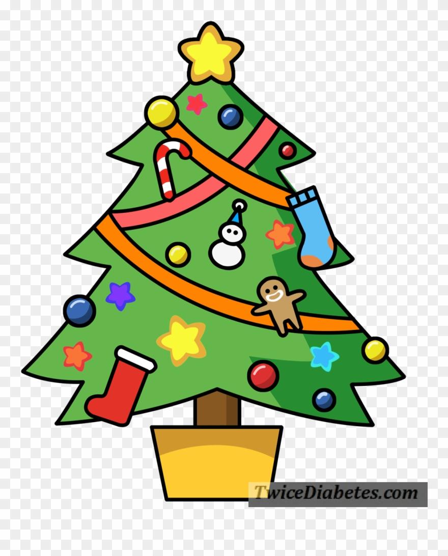 Christmas tree cartoon clipart clip freeuse stock D-dad, Blogger, And Activist Bennet Dunlap Agreed, - Christmas Tree ... clip freeuse stock