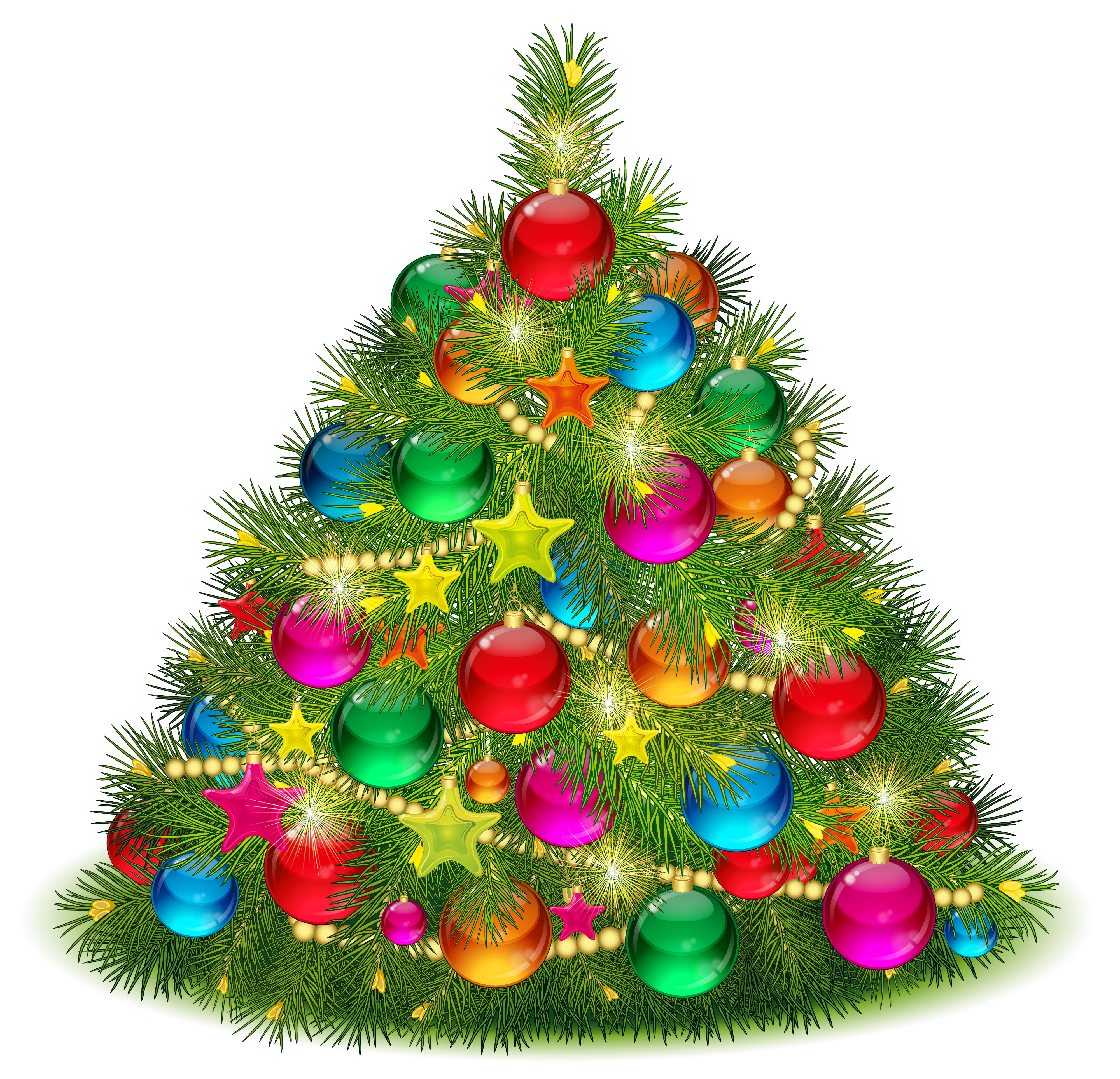 Free clipart xmas tree image freeuse stock 28+ Collection of Christmas Tree Decorating Clipart | High quality ... image freeuse stock