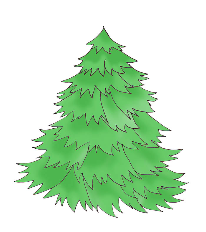 Christmas tree clipart jpeg vector royalty free stock Oh Christmas Tree Clipart - Clipart Kid vector royalty free stock