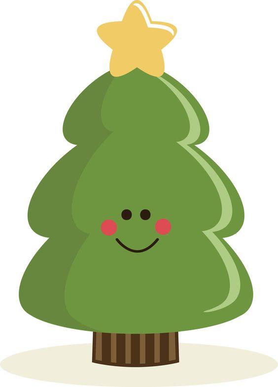 Christmas tree clipart jpeg clip art PPbN Designs - Cute Christmas Tree, $0.50 (http://www.ppbndesigns ... clip art
