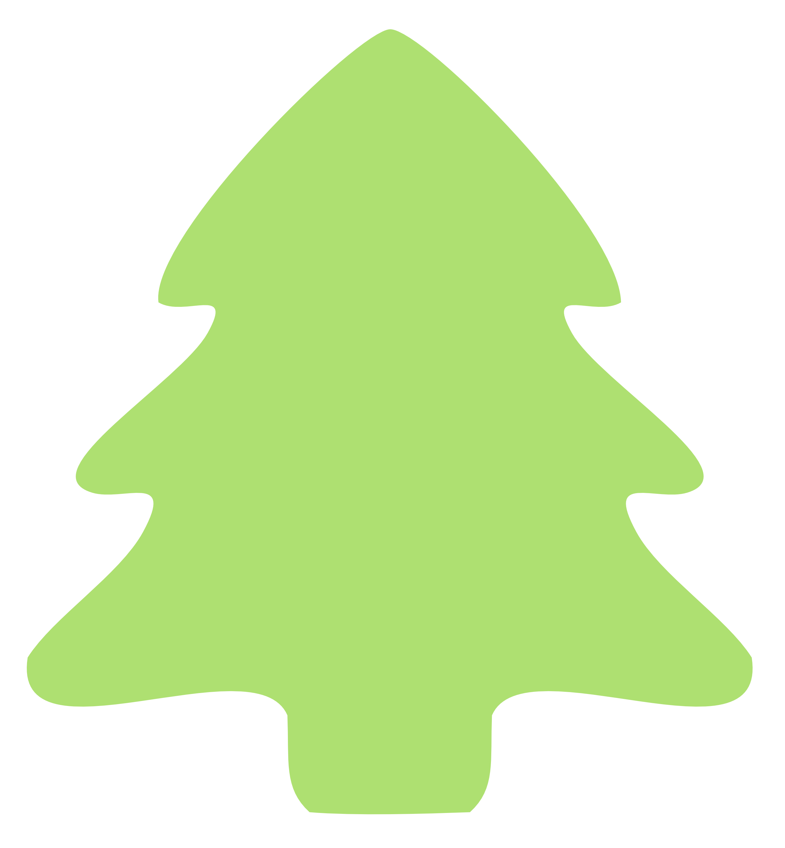 Christmas tree image clipart picture library stock Clipart simple christmas tree - ClipartFest picture library stock