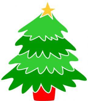 Christmas tree clipart jpeg banner Xmas tree cartoon clip art - ClipartFest banner